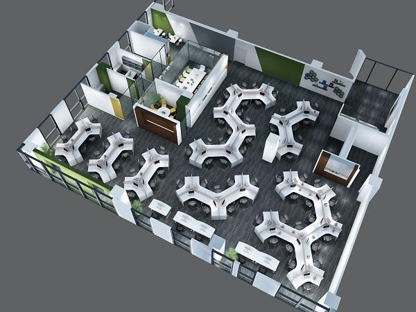 都江堰办公室装饰公司:中小型办公