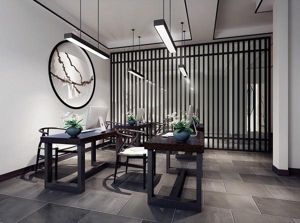 都江堰家装公司:中西结合写字楼装